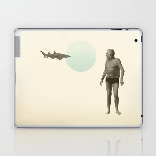 shark bate Laptop & iPad Skin