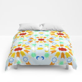 Winter Arabesque Comforters