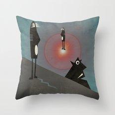 Intro to Surrealism Throw Pillow