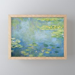Water Lilies 1906 by Claude Monet Framed Mini Art Print