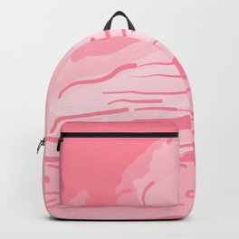 abstract style aurora borealis abspw Backpack