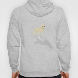 Wild At Heart - Cream French Bulldog Hoody