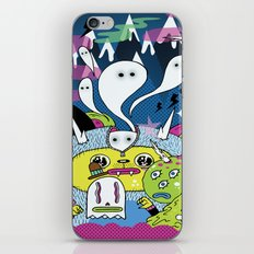 Spooky Spirits  iPhone & iPod Skin