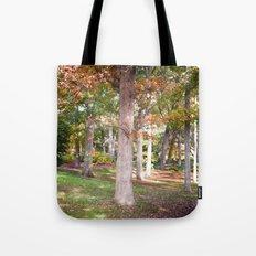 Trees at Wellesley  Tote Bag