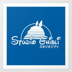 studio ghibli. Art Print