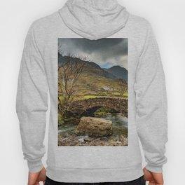 Nant Peris Bridge Snowdonia Hoody