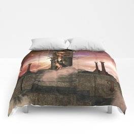 The  Totem place Comforters