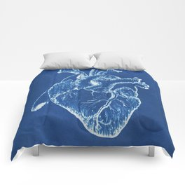 Anatomical Heart Comforters