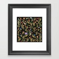 flowers garden Framed Art Print