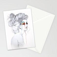 The Girl // Fashion Illustration Stationery Cards