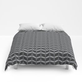 Geometric Pattern In Perspective Comforters