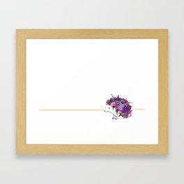 PorkyPorcupine Framed Art Print