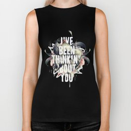I've been thinkin' 'bout you Biker Tank