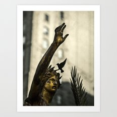 A Cry For Peace Art Print