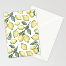 Lemon Fresh Stationery Cards