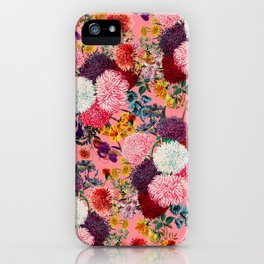 Floral Pink Pattern iPhone Case