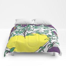 Yellow Light Comforters