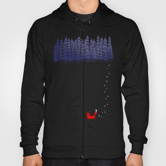 Alone in the forest Hoody