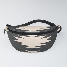 Minimal Southwestern - Charcoal Fanny Pack