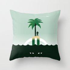Revis Island Throw Pillow