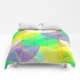Elegant mosaic tile Comforters