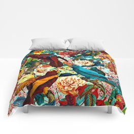 FLORAL AND BIRDS XV Comforters