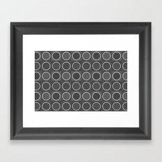 Dots 3 Framed Art Print