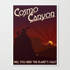 Final Fantasy VII - Cosmo Canyon Tribute Canvas Print