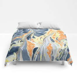 Erupting Lava #abstract #sabidussi #society6 #buyartprints Comforters