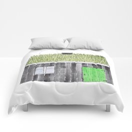 Traditional Faroese House Comforters