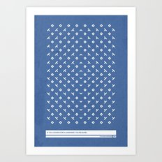 Nonsense 2 Art Print