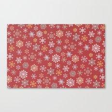 christmas snow Canvas Print