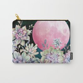 succulent full moon 3 Carry-All Pouch