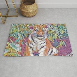 Tiger Cub Pop Art Rug