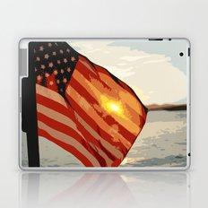 Patriot's Sunset Laptop & iPad Skin