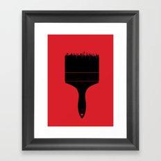 City Brush Framed Art Print