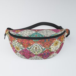 aziza patchwork Fanny Pack