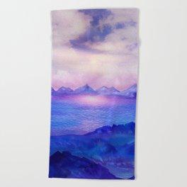 Wish You Were Here 04 Beach Towel