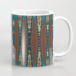 Southwestern Colors Mosaic Zigzag Coffee Mug