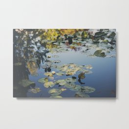 Monet's Lily Pond ... Metal Print