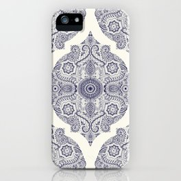 Explorations in Ink & Symmetry iPhone Case