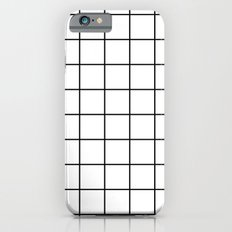 White Grid iPhone 6 Slim Case