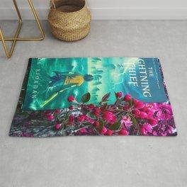 Percy Jackson & the Cherry Blossom Tree Rug