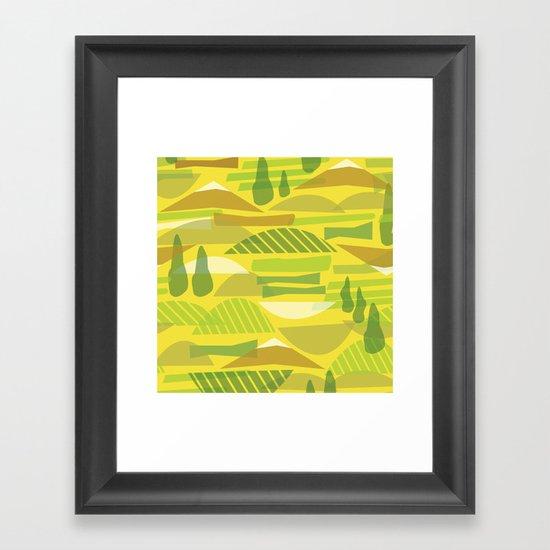 Italian Countryside Framed Art Print