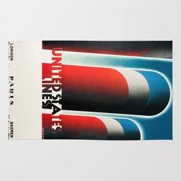 Vintage poster - United States Lines Rug