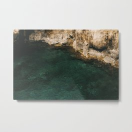 Under the wall Metal Print