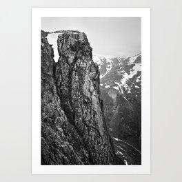 Peaks IX Art Print
