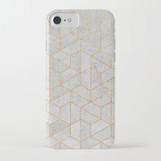 Concrete Hexagonal Pattern iPhone 7 Slim Case