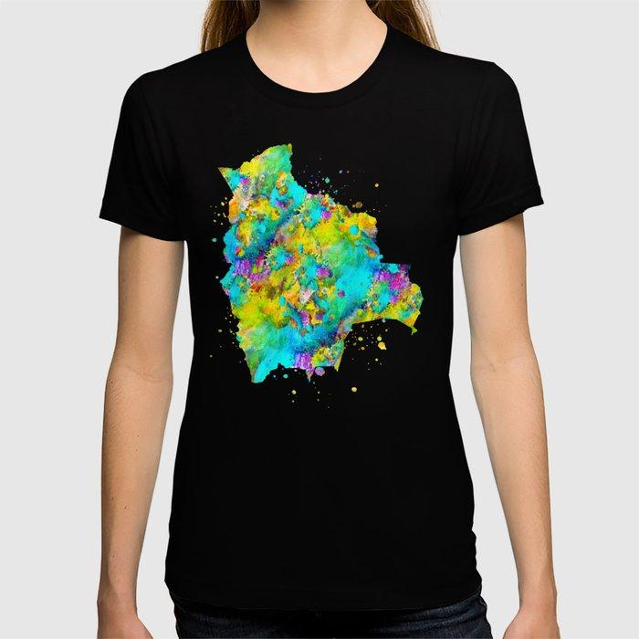 Bolivia Map T-shirt