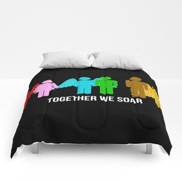 Together we soar Comforters